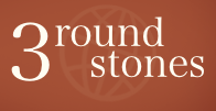 3 round stones