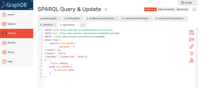 GraphDB: MongoDB Document Store Integration for Large-scale Metadata